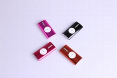 3.5mm Support 4G Portable Outer Speaker USB MP3 Player with Clip (4colors)