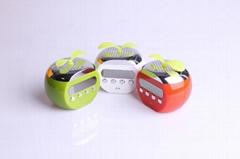 Apple style Mini Stereo Speaker Music MP3 Player FM Radio