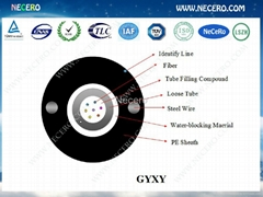 GYXY Optical fiber cable