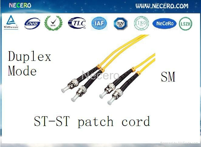 Optical fiber patch cord 1