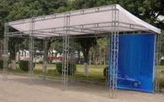 深圳桁架帐篷搭建