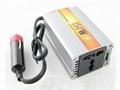 150W USB Car Power Inverter Adapter DC 12V to AC 220V usb car charger  1