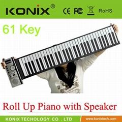 USB MIDI ROLL UP 88KEYS PIANO