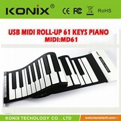 USB MIDI ROLL UP  PIANO