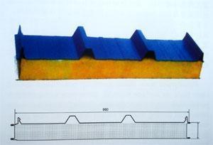 防水防火岩棉复合板 2