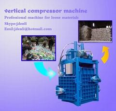 hydraulic baler machine, plastic baling