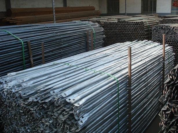 Steel Frame Scaffolding Cross Brace (Pre-galvanized) 1