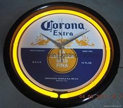 12-inch Neon Wall Clock