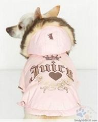 廠家直銷寵物風衣批發