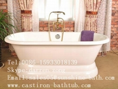 Cast Iron Double Ended Bathtub