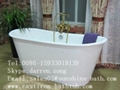 Cast Iron Skirted Bathtub