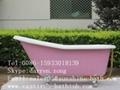 freestanding cast iron bathtub