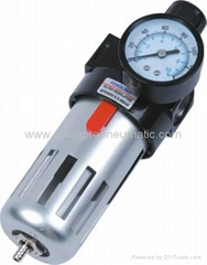 Pneumatic Air Filter and Regulator Combination