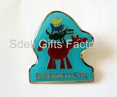 lapel pin, badge pin for