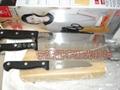 不锈钢刀具激光打标