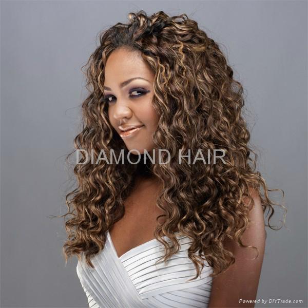 Basket Weave Highlights In Hair Human Hair Extensions