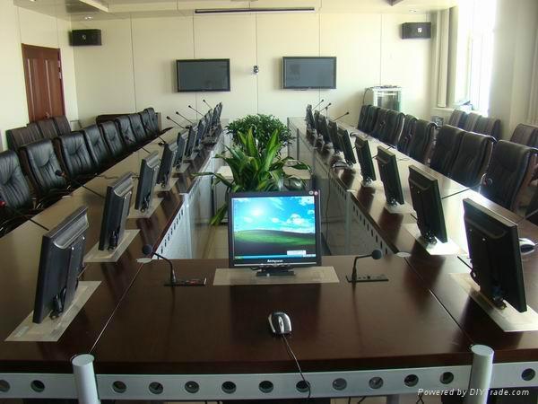 會議桌顯示屏昇降器 1