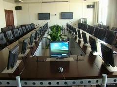 會議桌顯示屏昇降器