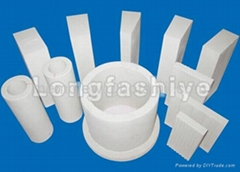 Acid resistant ceramic brick tile plate and pipe
