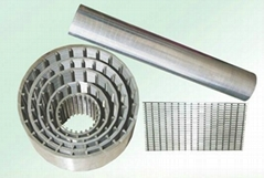 Supple wedge wire screen with good quality