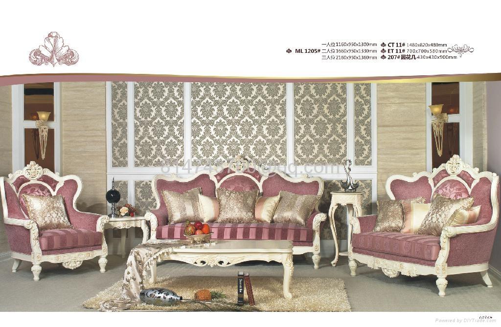 Antique European Genuine Leather Living Room Sofa Furniture Set Ml1208 Zl Dazhong China