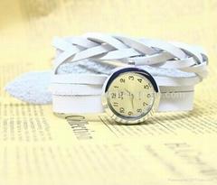 Cowhide series Punk Charm Watch bracelet watch hot in Ebay