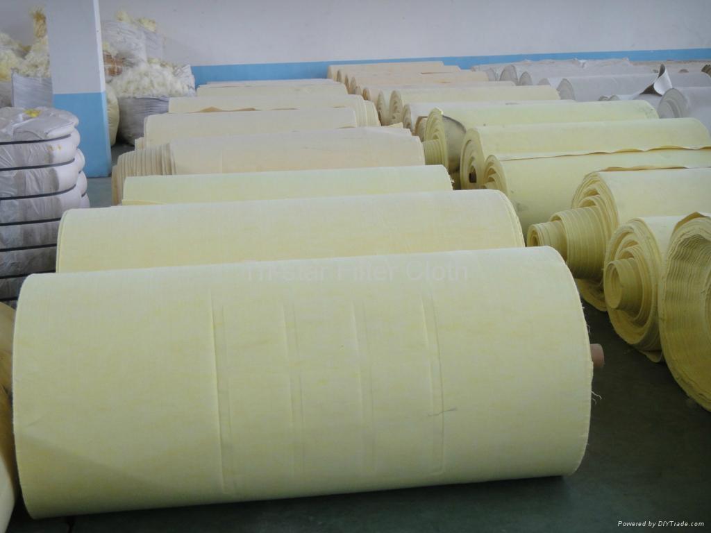 High Temperature Needle Felt Filter Cloth 5