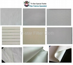 Woven PP/PET/PA/Nylon Filter Cloth