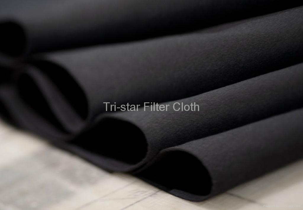 Polyester Nonwoven Needle Punched Felt Filter Cloth 4