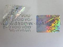 Security Tamper Evident Holograms For