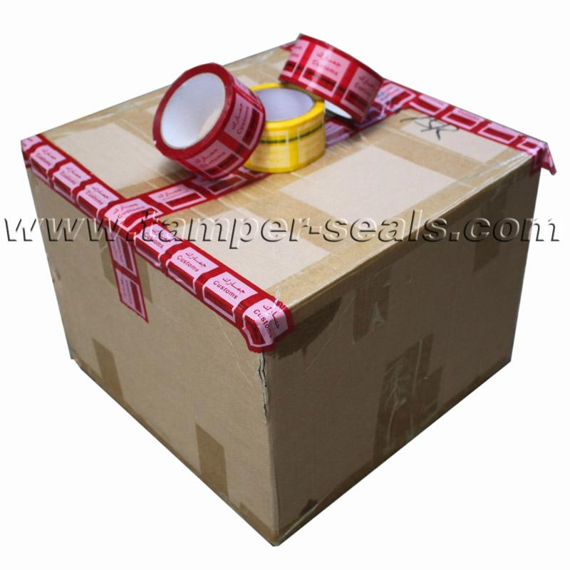 Tamper Evident Security Tapes For Sealing Cartons and Boxes  1