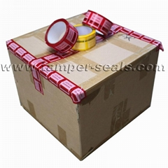 Tamper Evident Security Tapes For Sealing Cartons and Boxes