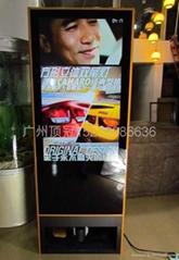 42寸擦鞋液晶廣告機