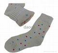 ladies jacquard rabbit wool socks