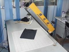 cheap and effective mini fabric sample cutting machine