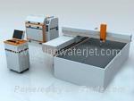 Sino cnc water jet cutting machine