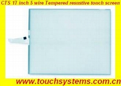 17 Inch 5 Wire Resistive Touch Screen (CTS-5W-17)