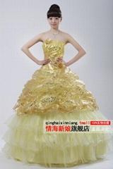 2013 wedding dress LF54-190 Free shipping around the World