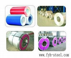 color coated steel coils PPGI