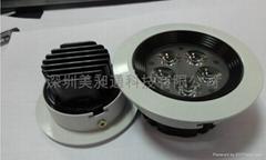 防旋光LED天花燈5W