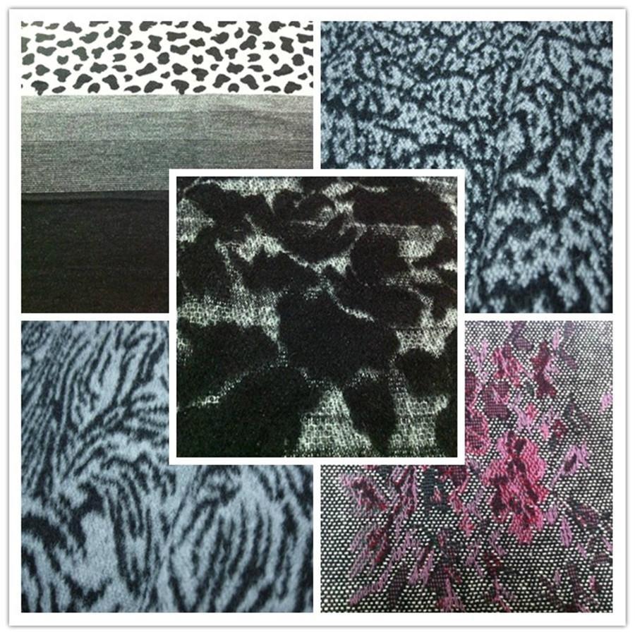 wool tweed jacquard fabric 1
