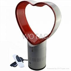 12 inch Heart-shaped bladeless fan