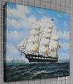 帆船油畫 2