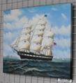 帆船油畫 3