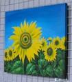 向日葵油畫 2