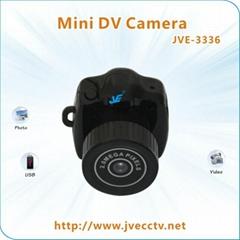 Smallest Spy Camera Black MINI JVE-3336. camera spy