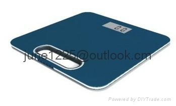 ELECTRONIC PERSONAL BATHROOM  SCALE WITH LCD SCREEN 4