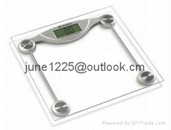 ELECTRONIC PERSONAL BATHROOM SCALE