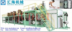 Half-servo Controll Full Automatic Baby Diaper Machine