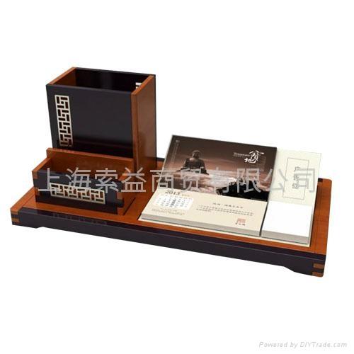 Annatto tray stationery set  1